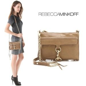 Rebecca Minkoff  shoulder leather chain link bag